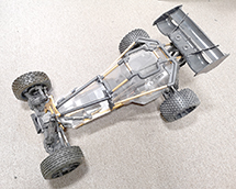 1/8 Scale Size Buggy Roller 2wd w/ Servo