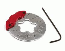 Red Brake Disk Add-On for TX Steering Wheel