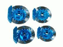 Realistic Brake Disk Set - Light Blue