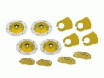 3Racing Realistic Brake Disk Set - Gold For M Chassis