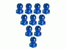 3Racing 4.8MM Hex Ball Stud L=5 (10 pcs) - Blue