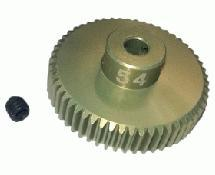 64 Pitch Pinion Gear 54T (7075 w/ Hard Coating)