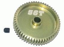 64 Pitch Pinion Gear 56T (7075 w/ Hard Coating)