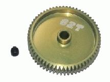 64 Pitch Pinion Gear 62T (7075 w/ Hard Coating)