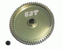 64 Pitch Pinion Gear 63T (7075 w/ Hard Coating)