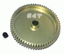 64 Pitch Pinion Gear 64T (7075 w/ Hard Coating)