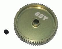 64 Pitch Pinion Gear 65T (7075 w/ Hard Coating)