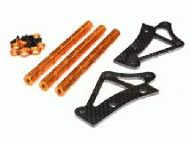 Stock Roll Cage Reinforcement Protection Top Mount for HPI Baja 5B & 5B2.0