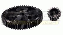 HD Steel Gear Set 17T+57T for HPI Baja 5B, 5T & 5B2.0