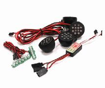 Complete LED Light Kit (4 Front+Brake) w/ KM Type Control Box
