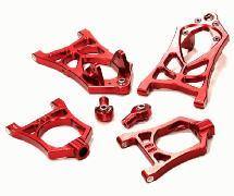 Billet Machined Type IV Front Suspension Arm Set for HPI Baja 5B, 5B2.0, 5T, 5SC