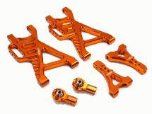 V2 Billet Machined Type IV Rear Suspension Arms for HPI Baja 5B, 5B2.0, 5T & 5SC