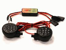 Complete LED Light Kit (2) w/ KM Type Control Box
