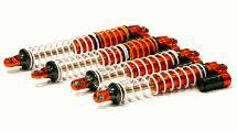 Billet Machined Type IV Shock Set (4) for HPI Baja 5B, 5T, 5B2.0, 5SC(8mm Shaft)
