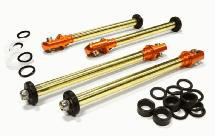 Complete Rebuilt Kit for BAJ249 Type Piggyback Shock (4) w/ 8mm Shafts