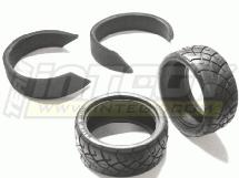 26mm X2 Rubber Radial for Touring Car