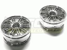 26mm 10 Dual Spoke Chrome Wheel for Touring Car
