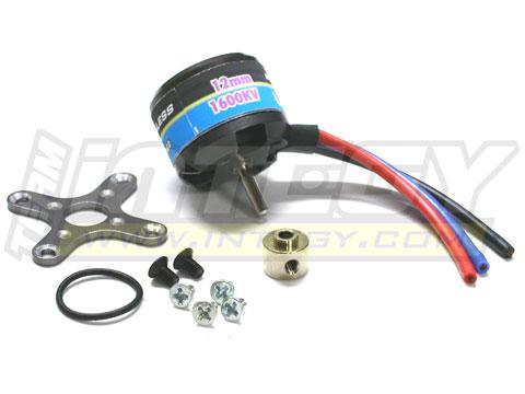 Brushless Motor 1600Kv 14A 57g for <24oz