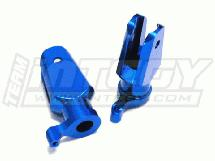 Integy C22504SILVER Alloy Main Rotor Holder for T-Rex 450