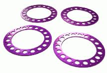 Outer Purple Ring O.D.102mm (4) for Beadlock Wheel