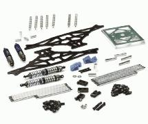 EVO Graphite Rock Crawler Kit Less Axles