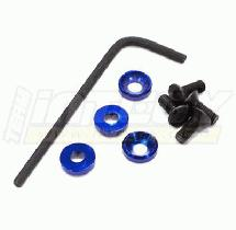 3mm Engine Mount F.H. Screw & Washer (4)
