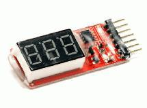 Digital Voltage Checker for LiPo Battery Packs