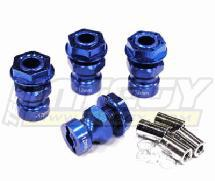 17mm Hex Wheel (4) Hub +12mm Offset for Traxxas 1/10 T-Maxx, Summit & Revo