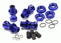 17mm Hex Wheel (4) Hub +18mm Offset for Traxxas 1/10 T-Maxx, Revo