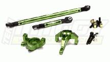 Alloy Steering Block & Linkage (2) for Axial SCX-10 CF-100, Dingo & Honcho