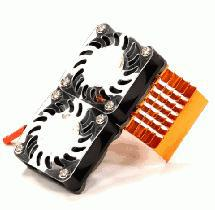 Super Motor Heatsink+Twin Cooling Fan 750 for Traxxas Summit