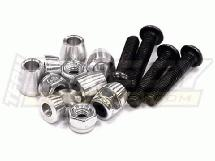 Spacers, Standoffs & Screws for 1/10 Off-Road Upper Shock Mount 3mm Size