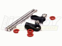 Shock Rebuild Kit w/ Shock Shaft (2) for MSR11 Type 98mm