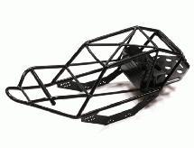 2.2 Steel Roll Cage w/ Receiver Box for Axial SCX-10 CF-100, Dingo & Honcho