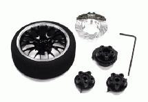 Evolution V Steering Wheel Set for TRX, HPI, Futaba, Airtronics, Hitec & KO