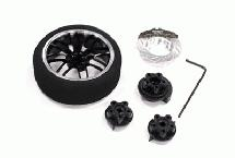 Evolution VI Steering Wheel Set for TRX, HPI, Futaba, Airtronics, Hitec & KO