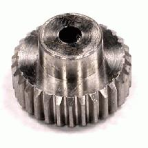 Billet HD Stainless Steel 48 Pitch Pinion 30T for Brushless w/ 0.125 Shaft