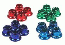 M4 Size Wheel Nut (4 Color) 16pcs Set