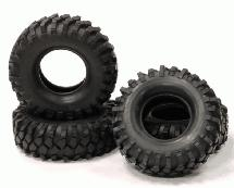 1.9 Size All Terrain (4) Off-Road Tires Type III (O.D.=110mm)