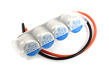 High Performance ESC Input Capacitor Set for 2S to 3S Applications