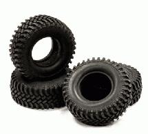 1.9 Size All Terrain (4) Off-Road Tires Type IV (O.D.=100mm)