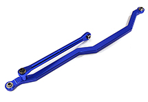V2 Billet Machined Alloy Steering Front Linkage for Axial Wraith