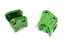 Billet Machined Alloy Lower Suspension Link Mount (2) for Axial Wraith 2.2