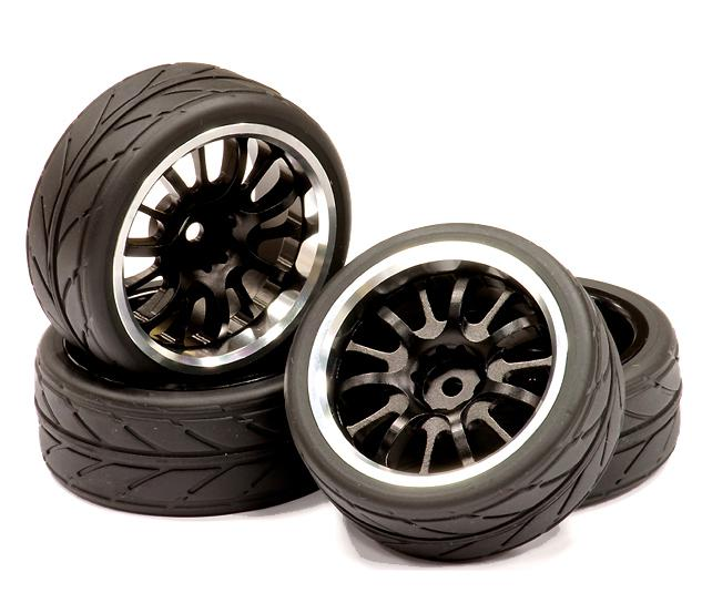 Tires, Inserts & Wheels For 1/10 RC On-Road & Touring Cars