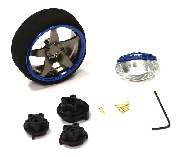 Evolution VIII Steering Wheel Set for TRX, HPI, Futaba, Airtronics, Hitec & KO