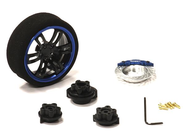 Evolution XI Steering Wheel Set for TRX, HPI, Futaba, Airtronics, Hitec & KO