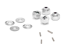 Billet Machined Hex Wheel Hub Set (4) for Axial Wraith 2.2