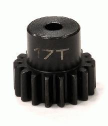 Billet 32 Pitch Steel Pinion 17T for Brushless Applications w/ 0.125 Shaft
