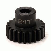 Billet Machined 32 Pitch Steel Pinion 21T for Brushless Applications w/5mm Shaft