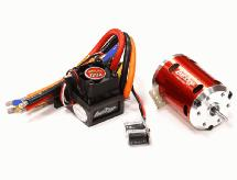 Sensored Brushless 120A System 6.5T 5200Kv Combo 2S-3S for 540 Size 1/10
